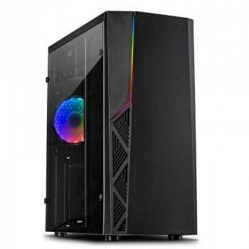 Boîtier PC Gamer INTER-TECH B-02 RGB - Noir