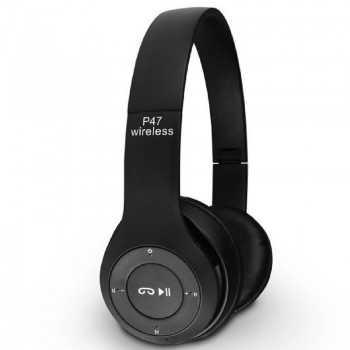 Casque Sans Fil P47 Bluetooth - Noir