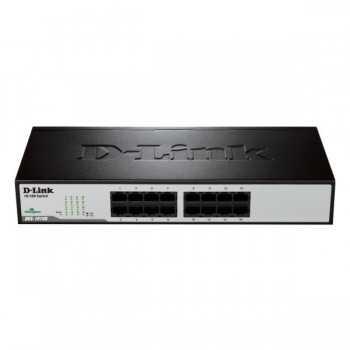 Switch 16 ports 10/100Mbps Base-T DES-1016D/E