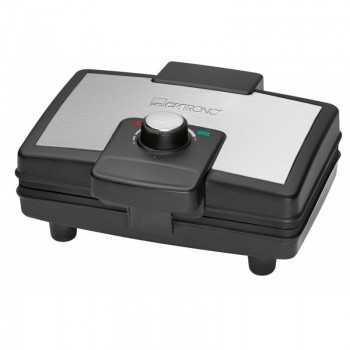 Appareil à Gaufres CLATRONIC 800 Watt - Noir (WA3606)