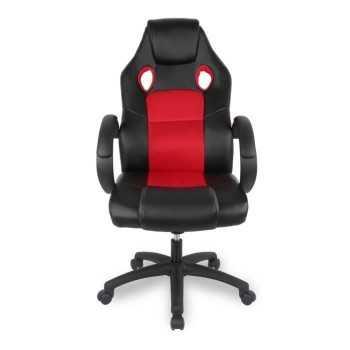 Chaise Super Gamer Noir et Rouge