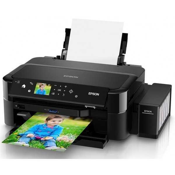 Imprimante Photo A4 à réservoir intégré Epson L810