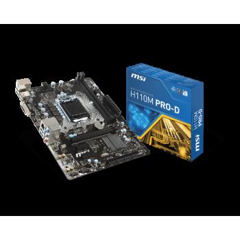 Carte mère MSI H110M Pro-D Intel 1151
