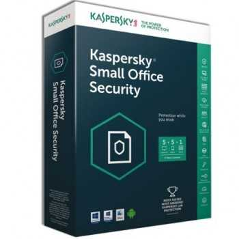 Kaspersky Small Office Security 5 PC + 1serveur / 1an