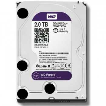 "Disque Dur Interne 3.5"" Pour Video Surveillance WD Purple 1 To"