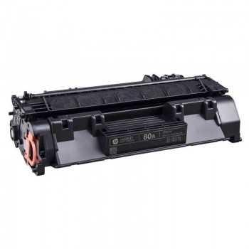 Toner Adaptable LaserJet HP 80A Noir