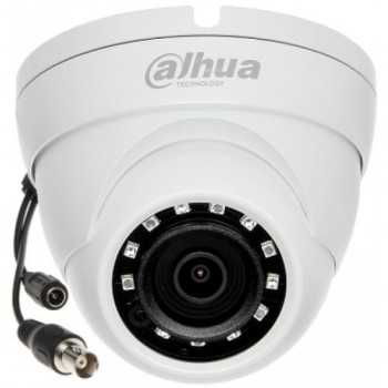 Caméra Dome 2MP HDCVI Plastique IR 30m