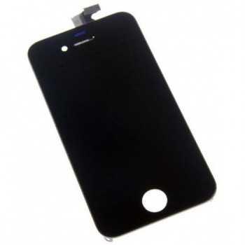 Ecran LCD + Vitre Tactile iPhone 4 Noir