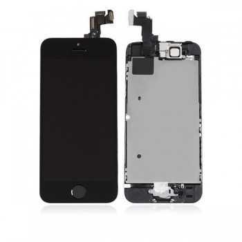 Ecran LCD + Vitre Tactile iPhone 5S Noir