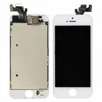 Ecran LCD + Vitre Tactile iPhone 5S Blanc