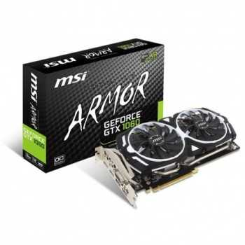 Carte Graphique MSI NVIDIA GEFORCE GTX1060 Gaming X 6G ARMOR