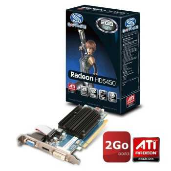 Carte graphique Sapphire RADEON HD 5450 2G DDR3