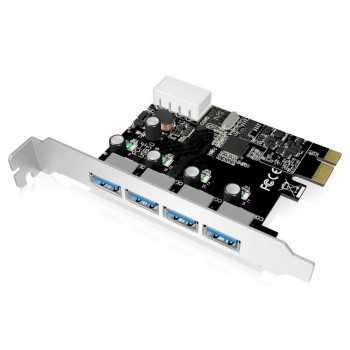 Carte 4x USB 3.0 PCI Express ALPHA