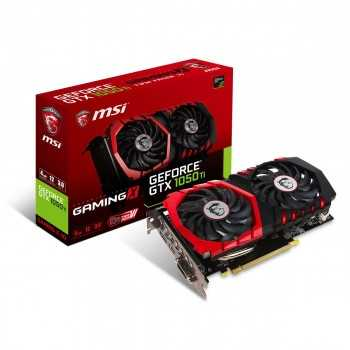 Carte Graphique MSI GeForce GTX 1050Ti Gaming X 4Go