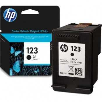 Cartouche d'Encre HP 123 Noir - 120 Pages