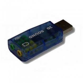 Carte Son Externe USB 5.1
