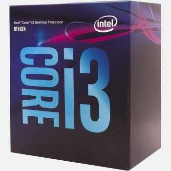 Processeur Intel Core i3 8100 (3.6 GHz)