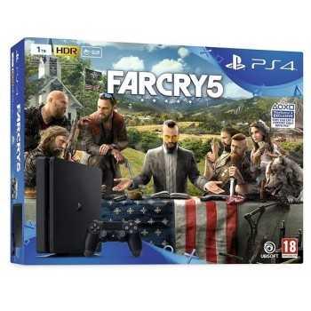PlayStation 4 Slim 1To + Far Cry 5