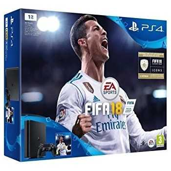 PlayStation 4 Slim 1To + FIFA 18