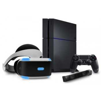 PlayStation 4 VR (PSVR) + Caméra V2 + World PS4