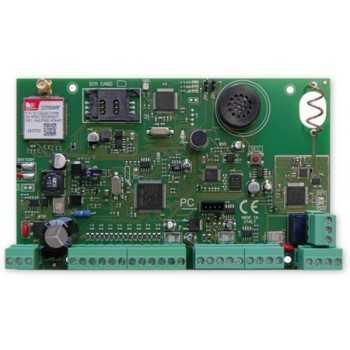Centrale d'Alarme Hybride x64-3E8 GSM/3G