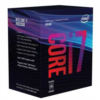 Processeur Intel Core i7 8700 (4.6 GHz)