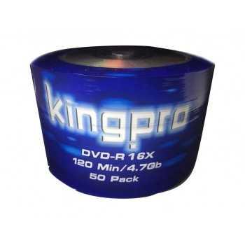 Bobine 50x DVD-R KINGPRO 16x 120Min / 4.7Go