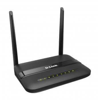 Routeur Wifi DLINK DSL-124 N300 4-Port