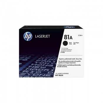 Toner Original HP Cartridge 81A Noir