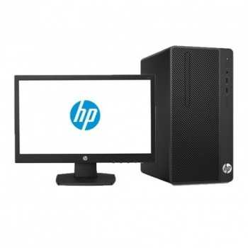 "Pc de Bureau HP 290 G2 / Dual Core / 4Go / 500Go (Avec Ecran 20.7"")"
