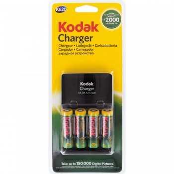 Chargeur Piles Kodak K620 + 4 Piles AA 2100mAh