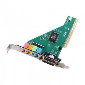 Carte Son PCI 4 Canaux 5.1