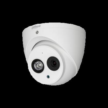 Caméra Dome 2MP HDCVI Aluminium IR 50m (Avec Micro)
