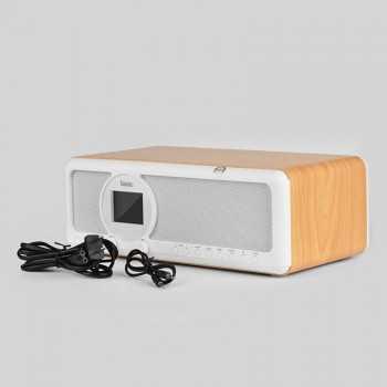 Haut Parleur Hoco BS12 en Bois (Filaire & Bluetooth)