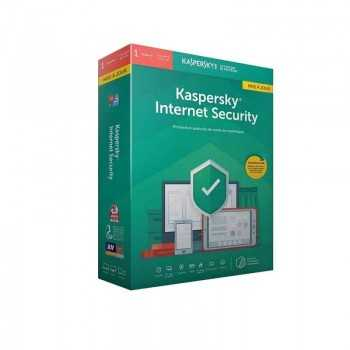 Kaspersky Internet Security 2019 / Licence 1 Poste pour 1 an