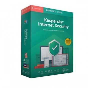 Kaspersky Internet Security 2019 / Licence 3 Postes pour 1 an