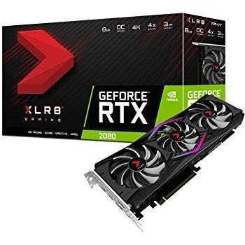 Carte Graphique PNY Geforce RTX 2080 XLR8 8Go OC