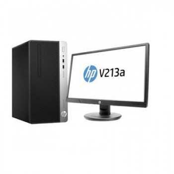 """Pc Bureau HP ProDesk 400 G5 / i7 8ème Gén / 4Go / 500Go (Avec Ecran 20.7"""")"""