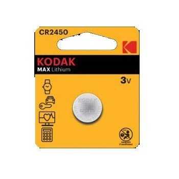 Pile Bouton KODAK Ultra CR2450 Lithium 3V