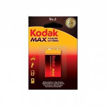 Pile Kodak Max Alkaline 9V LR61