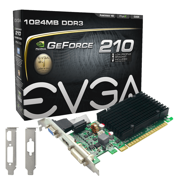 Carte Graphique 1Go EVGA GeForce 210