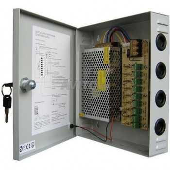 Bloc d'alimentation Autonome 12V 20A avec Boitier