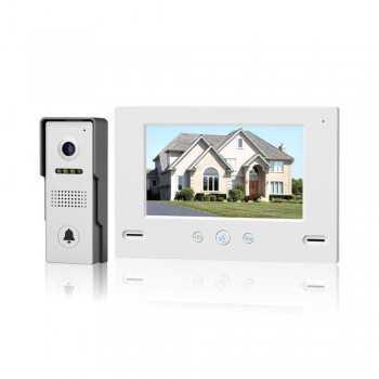 """Vidéophone Numérique avec Ecran 7"""" (MR980C4 + PL990C4)"""