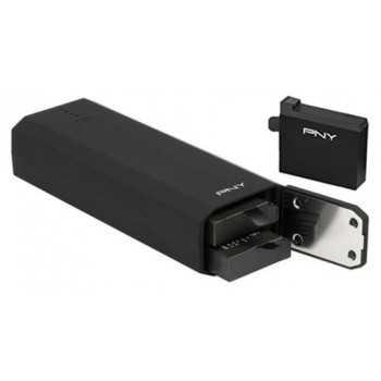 Power Bank PNY 5200mAh + 2 Batteries pour GoPro Hero 4