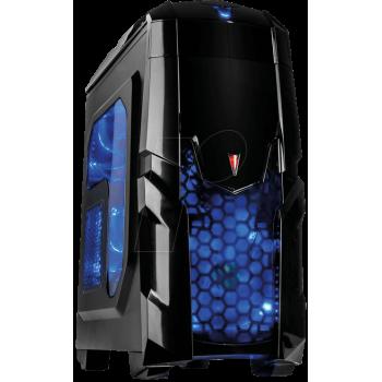 Boitier INTER-TECH Q2 Illuminator Blue