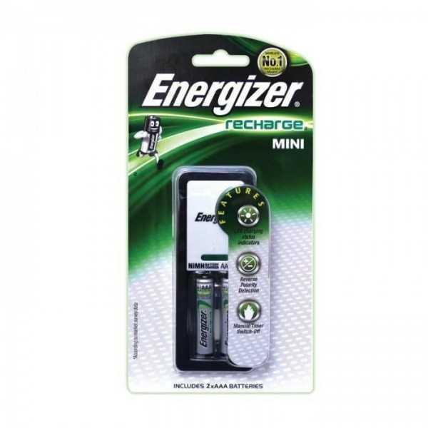 Mini Chargeur Piles ENERGIZER CH2PC3