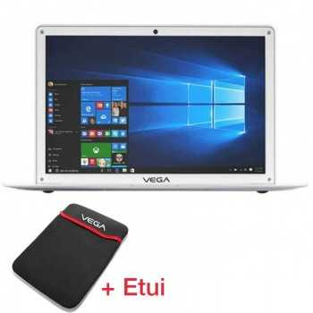 PC Portable VEGABOOK Pro Quad Core 2Go 32 Go Blanc