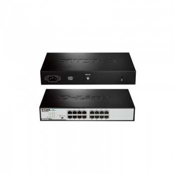 Switch D-Link DGS-1016D/E 16 ports Gigabit Rackable
