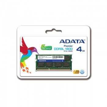 BARRETTE MÉMOIRE ADATA 4GO DDR3 POUR PC PORTABLE