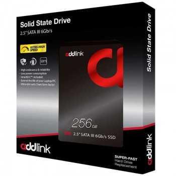 "Disque Dur Interne SSD ADDLINK 256 Go SSD 2.5"""
